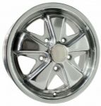 SSP Fooks Alloy Wheel Polished 4.5Jx15'' with 5x130 Stud Pattern ET45